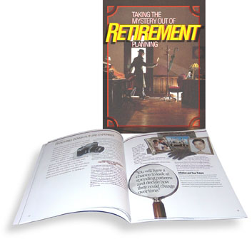 Photo of the cover of Taking the Mystery Out of Retirement Planning.