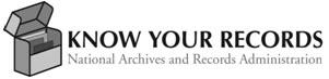 NARA Know Your Records Program logo