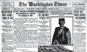 Washington Times October 22, 1912