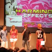 Teens explaining prescription drug abuse.