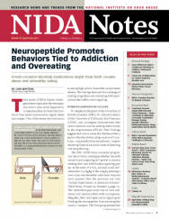 Picture of NIDA Notes Vol. 23 No. 5: Neuropeptide Promotes Behaviors Tied to Addiction and Overeating