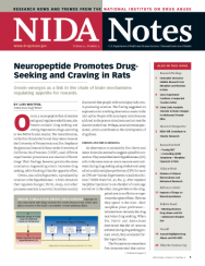 Picture of NIDA Notes Vol. 21, No. 4: Neuropeptide Promotes Drug-Seeking and Craving in Rat