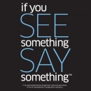 """If You See Something, Say Something"" logo"