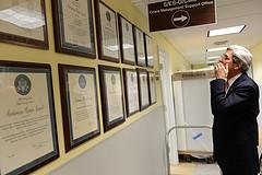 Secretary Kerry Reads Award Citations
