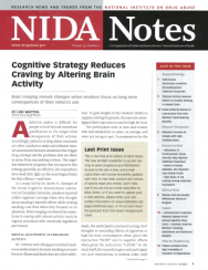 Picture of NIDA Notes, Vol. 24, No. 2: Cognitive Strategy Reduces Craving by Altering Pain Activity