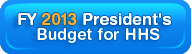 2013 President's budget for HHS
