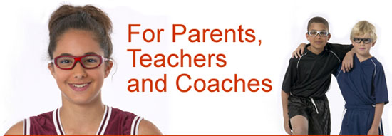For Parents, Teachers and Coaches. Photo provided courtesy of Liberty Sport.