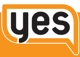 """Youth Emergency Services logo, the word """"YES"""""""