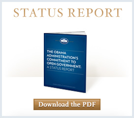 Status Report-Learn more about the Obama Administration's Commitment to Open Gov