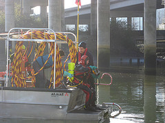 January 15, 2013 - Lower Duwamish sampler recovery trip