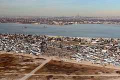 December 6, 2012 Flyover view of Breezy Point, New York