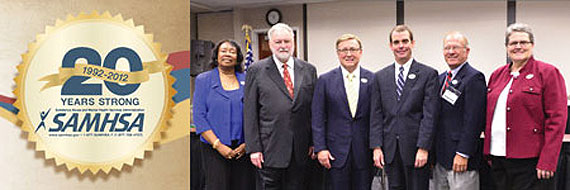 Photo of current staff members at SAMHSA.
