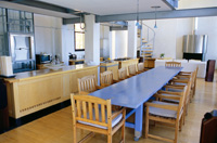 Photgraph of a large open dining area.
