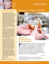 NIDA Research Report about Prescription Drug Abuse