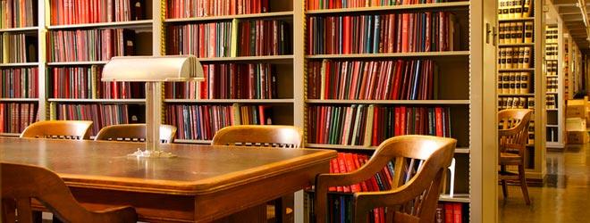 Photo of the DOJ Main Library
