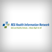 National Education Association's Health and Information Network logo