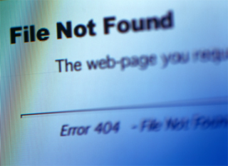Error - 404 - Page Not Found