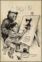 Clifford Berryman Cartoon Exhibit
