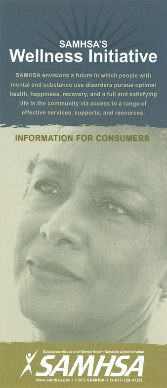 SAMHSA's Wellness Initiative: Information For Consumers