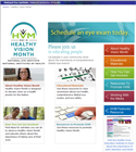Healthy Vision Month website
