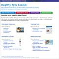 Healthy Eyes Toolkit