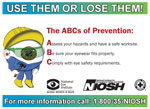 Eye Safety at Work Magnet