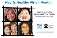 Healthy Vision Month E-card