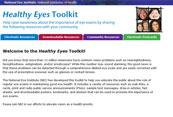 image of Healthy Eyes Toolkit brochure