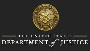 Sello del departamento de Justicia de los estados unidos