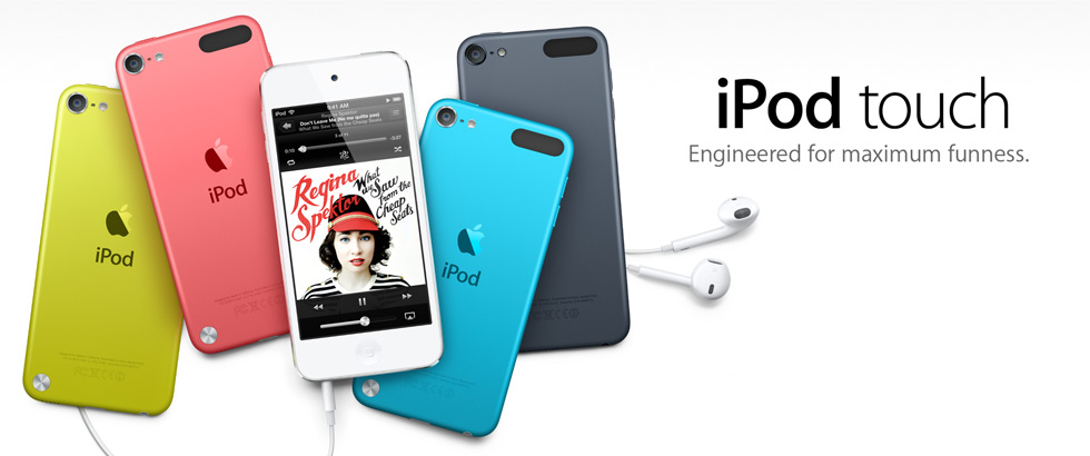 iPod touch. Engineered for maximum funness.