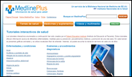 MedlinePlus tutoriales interactivos de salud