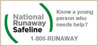 Know a Youth Who needs help? Call 1800-RUNAWAY