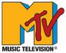 MTV logo, reading MTV, Music Television.