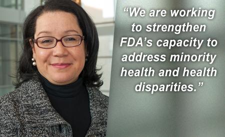 Jonca Bull: FDA Fights Health Disparities - topic feature