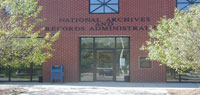 exterior  of Pittsfield Federal Records Center