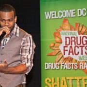 Mario at National Drug Facts Week