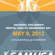 National children's mental health awareness day banner.