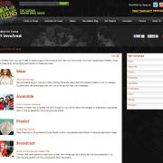 PEERx Web page that lists activities