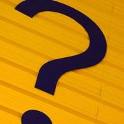 Photo of a question mark; Image Courtesy of Lesley Mitchell