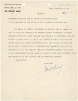 Letter from Ho Chi Minh to President Harry S. Truman
