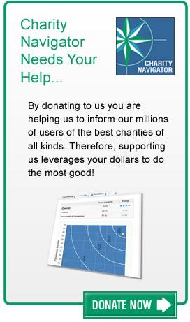 Donate to Charity Navigator