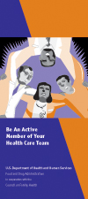 Be An Active Member of Your Health Care Team