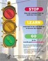 Stop, Learn, Go (public service announcement) - traffic light