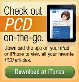 Download our app to view PCD articles on your iPad or iPhone.