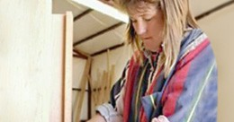 Picture of Women doing carpentry work.