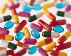 Photograph of various pills
