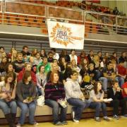 Group of teens at a National Drug Facts Week event