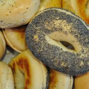 poppy seed bagel