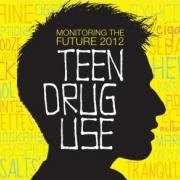 Teen head silhouette with Monitoring the Future title