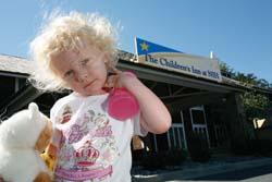 Channing O'Halloran at age 3